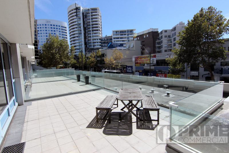Modern Large Balconies Medical Consulting ST LEONARDS MODERN FITOUT LARGE BALCONY